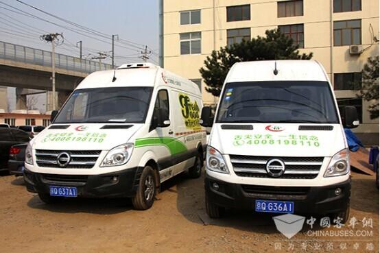 当轻客遇上新能源 听听经销商口中的南京金龙电动物流车