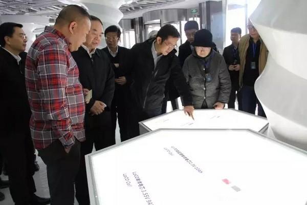 """""""中国制造2025""""城市试点示范创建工作国家考察评估组莅临微宏动力参观考"""