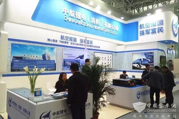 用技术和实力说话——中航锂电产品亮相天津客运展