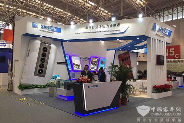 登陆行业大展,天津三电助力中国客车品质升级