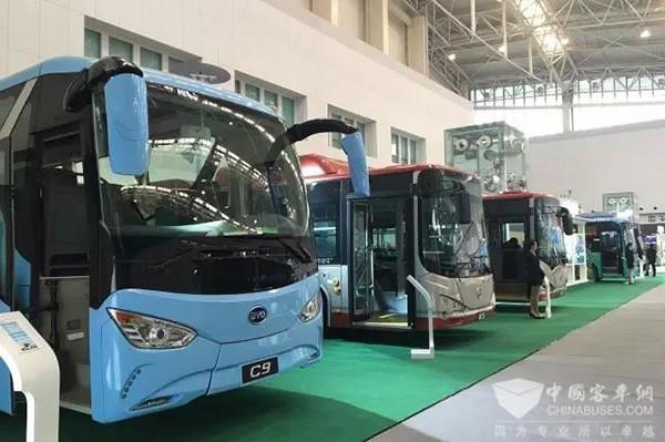 电动化与立体化 比亚迪新能源交通解决方案亮相天津客车展