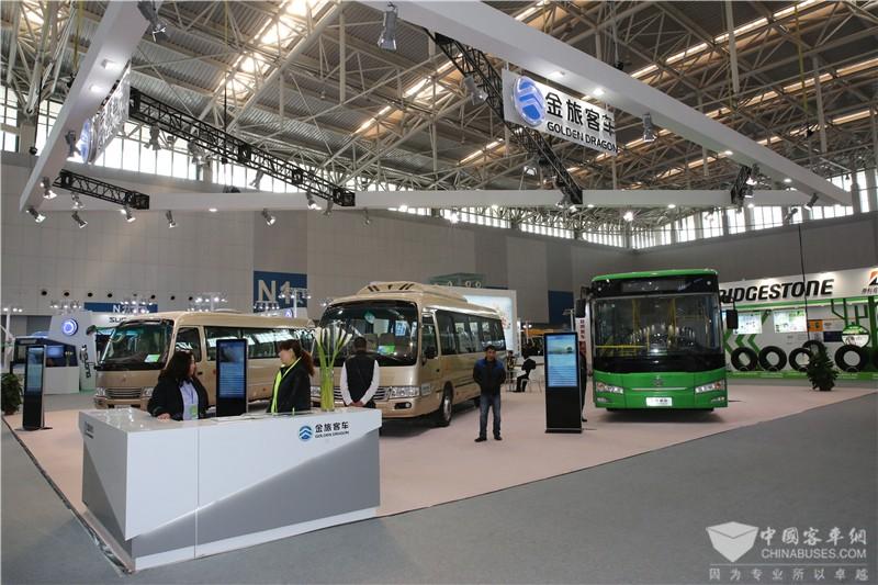 2017天津客车展:金旅客车展台