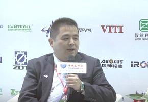 2017天津客车展:中国客车网专访东风德纳车桥有限公司副总经理王军