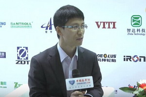 2017天津客车展:中国客车网专访中通客车品牌文化部部长李笃生
