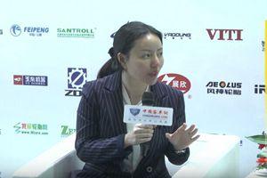 2017天津客车展:中国客车网专访微宏动力高级销售副总裁何欣