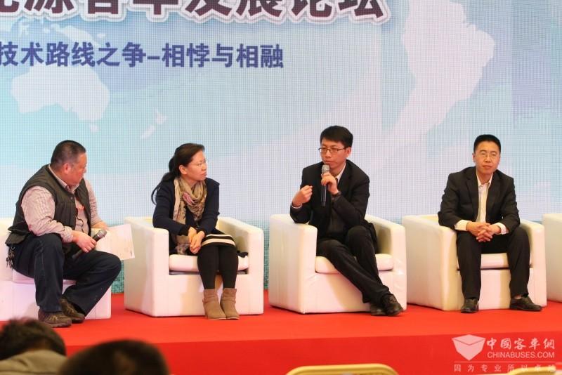 2017天津客车展:中国新能源客车发展论坛(2)