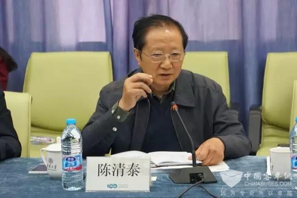 """陈清泰:""""四化""""是汽车产业改革和技术进步的方向"""