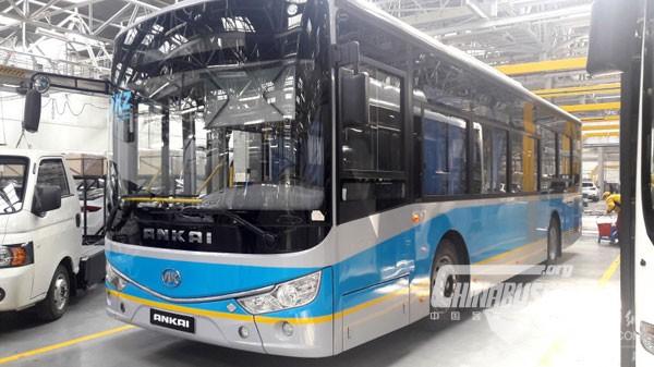 安凯客车哈萨克斯坦正式投产