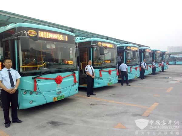 深圳公交即将实现全面电动化,南京金龙助一臂之力