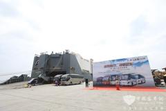 申沃公司海外交车仪式在沪举行