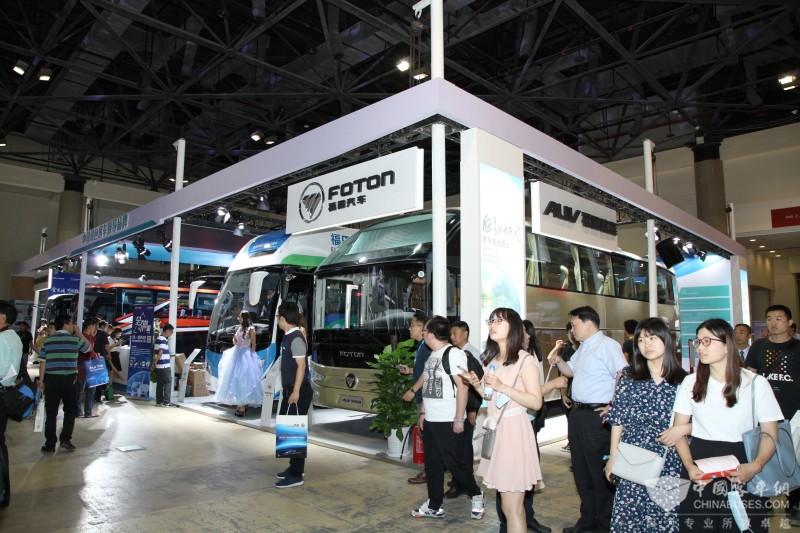 2017北京道路运输展:福田欧辉展台