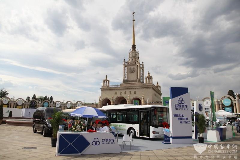 2017北京道路运输展:舒驰客车展台