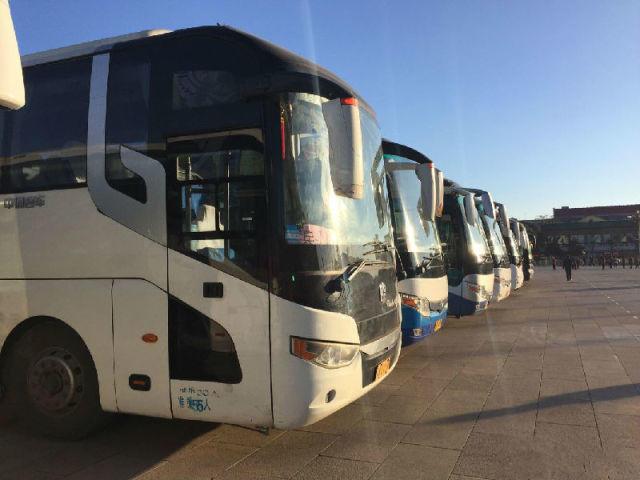 5-55座企业班车、机场接送、会议用车、旅游包车