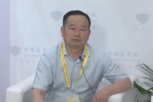 2017北京道路运输展:中国客车网专访郑州凯雪冷链公司客车总经理冯绍成