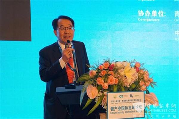 宁波金和刘相烈:2030年新型动力电池续驶里程可达500英里