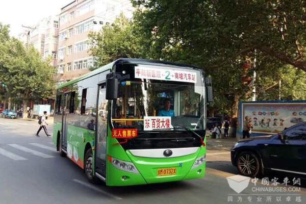 山西:全省纯电动公交车发展数量近半