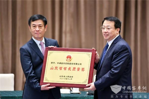 品牌价值突破50亿,中通客车连续三年入围中国品牌价值500强