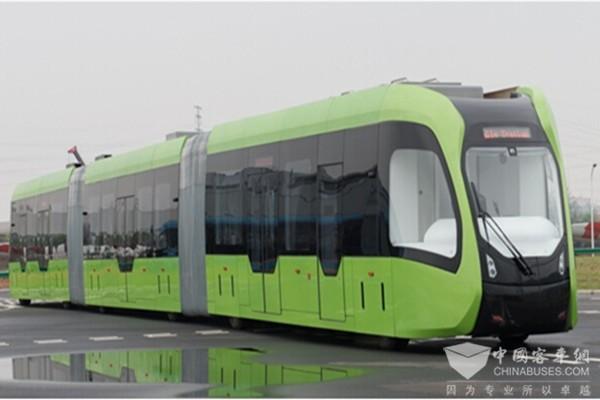 32米ART胶轮低地板智能列车