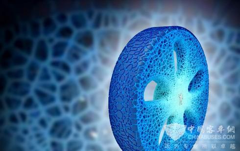 米其林胖子又玩新花样:3D打印轮胎能用到你车坏