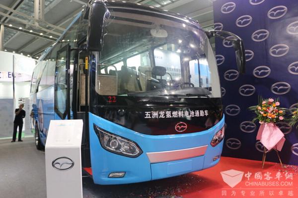上海新能源汽车展8月23举行 氢燃料电池汽车成亮点
