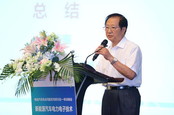 陈清泰:要关注电动汽车产业链的重组