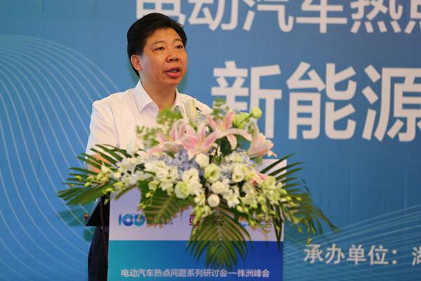 毛腾飞:株洲打造中国动力谷 新能源汽车产业占主导