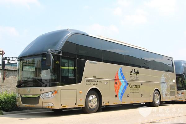 中通客车携东风康明斯赢沙特高端市场