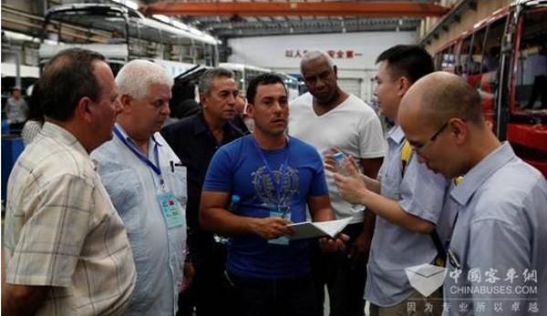 加深产业交流,海沧基地迎来了古巴考察团