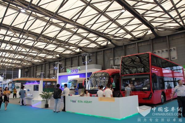 上海国际客车展:银隆钛实力亮相
