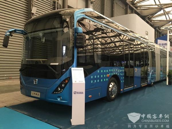 打造节能环保绿色卫士—申沃客车携三款纯电动产品亮相2017上海客车展