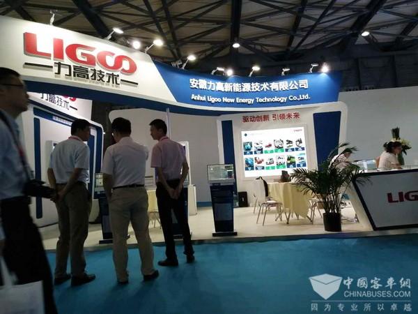 安徽力高新能源携BMS系列产品亮相上海客车展