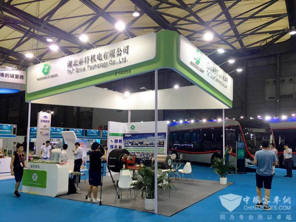 湖北泰特机电亮相2017上海国际客车展