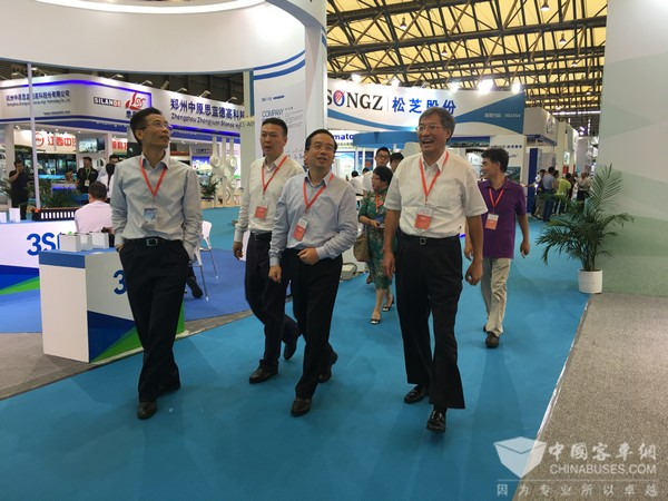 BUS EXPO 2017上海国际客车展成功落幕 参观人次超2.5万