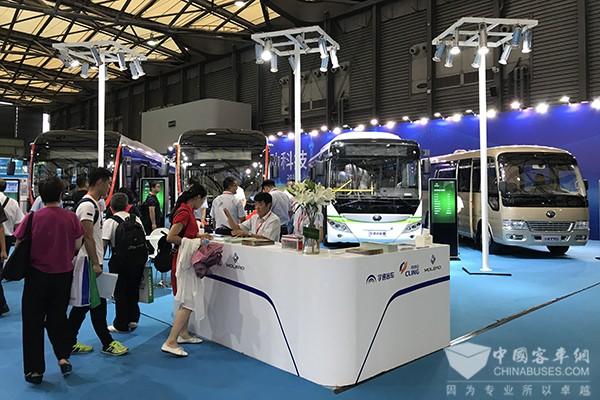 BUS EXPO2017上海客车展|宇通客车展台