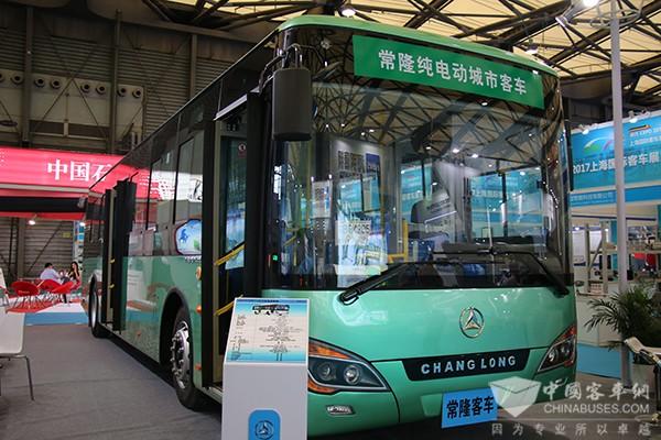 BUS EXPO2017上海客车展|常隆客车展台