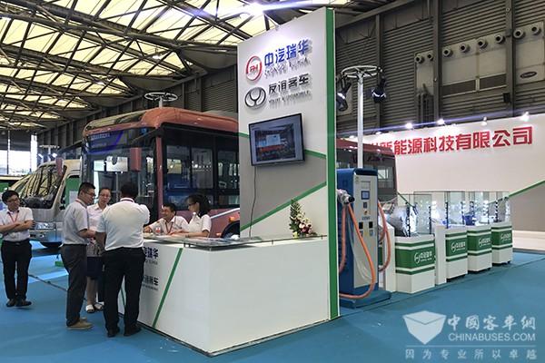 BUS EXPO 2017上海客车展|中汽瑞华展台