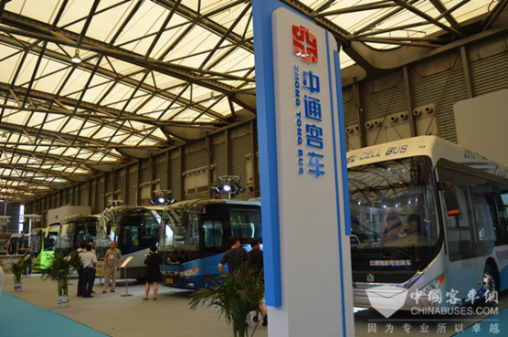 """中通客车上海上演""""外滩风云"""""""