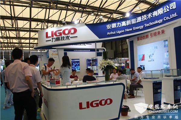 BUS EXPO 2017上海客车展|安徽力高展台