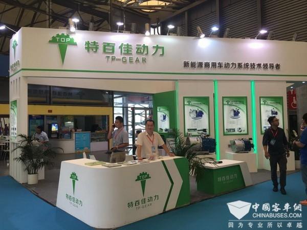 BUS EXPO 2017上海客车展|特百佳展台