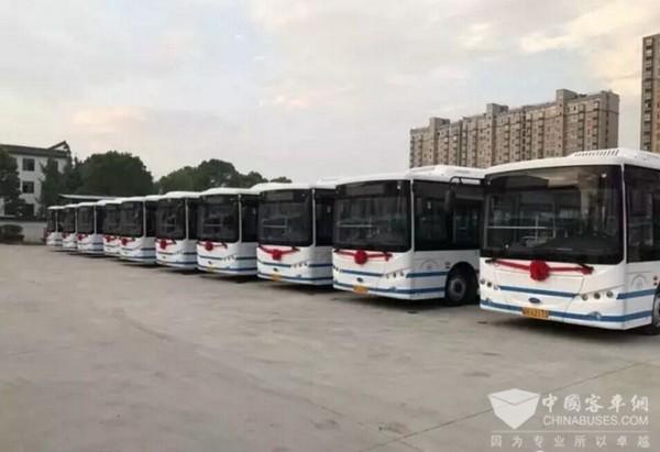 安徽太湖新能源公交初体验,南京金龙助力传统公交企业转型