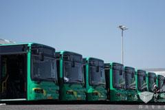 8台金旅纯电动公交车投入以色列首条纯电公交线路