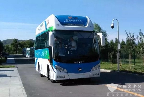 氢能发动机成功下线,福田欧辉将迎氢燃料电池客车发展新阶段