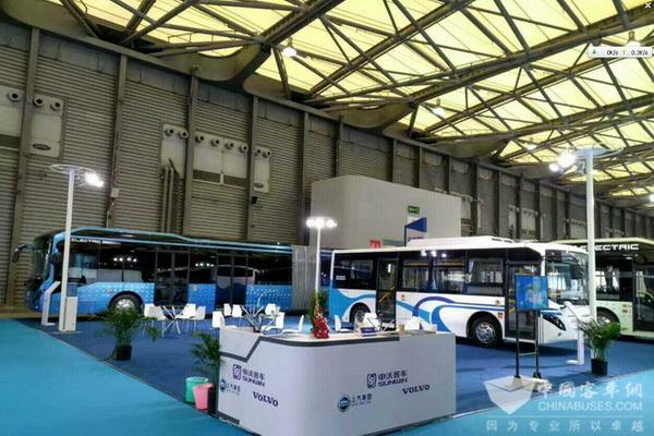 BUS EXPO 2017上海客车展|申沃客车展台