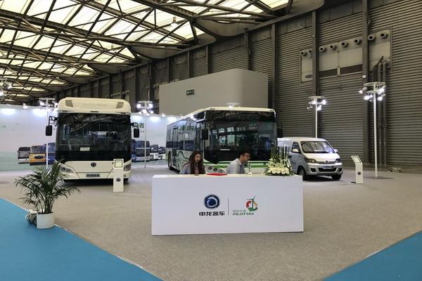 BUS EXPO2017上海客车展|申龙客车展台