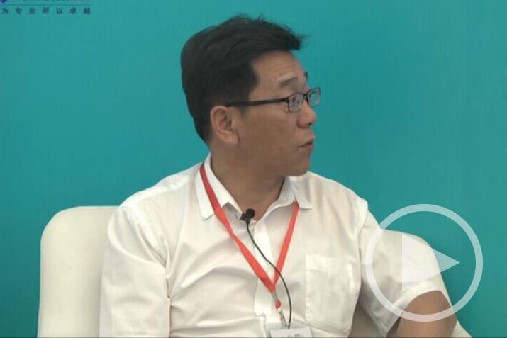 2017上海国际客车展 专访银隆新能源集团副总裁敖建华
