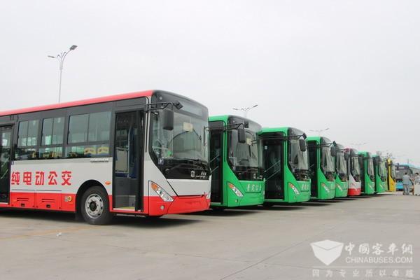 四川德阳:绵竹24辆新能源公交车上路