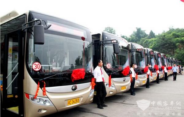 四川:绵竹大力推广新能源公交