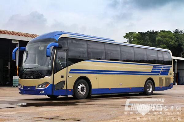 百路佳高端客车出口32个国家和地区