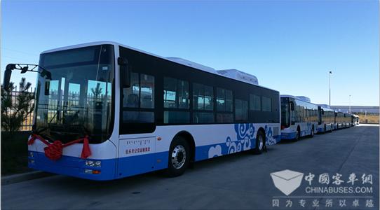 浙江嘉兴:桐乡32辆纯电动公交即将投入运行