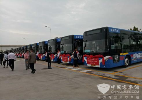 """北方客车""""新型实用纯电动公交""""落户青岛高新区"""